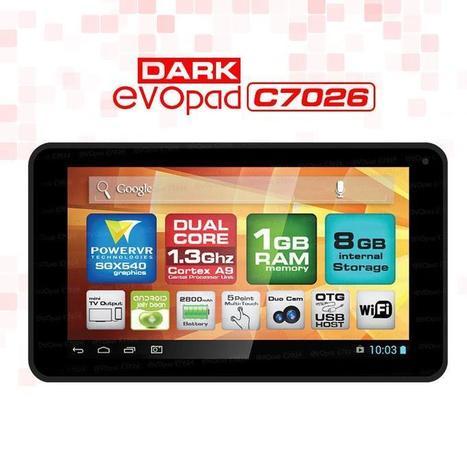 DARK Evopad C7026K Hediyeli Özel Kit 8GB 7'' Siyah Tablet :: Cadde Market   alisveris   Scoop.it