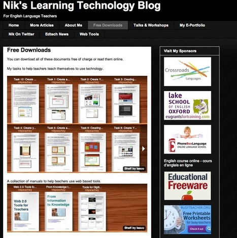 Nik's Learning Technology Blog | Nik Peachey | Scoop.it