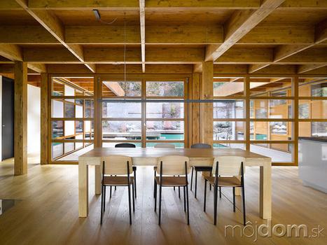 Drevostavba, ktorá vyráža dych! Aj takto môže vyzerať veľkorysý a zároveň skromný luxus   domov.kormidlo.sk   Scoop.it