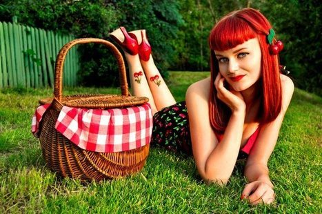 Polish Pin Up Girl Rockagirl Says It All With A Look | Rockabilly | Scoop.it