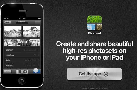 Photoset - Create beautiful photosets on iPhone or iPad | Visual and Creative Arts | Scoop.it