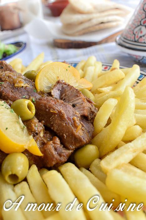 lham mhamer, tajine de viande rotie | Cuisine Algerienne, cuisine marocaine, cuisine tunisienne, cuisine indienne | Scoop.it