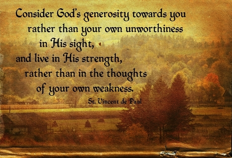 St. Vincent de Paul Poster on his Feast Day | Resources for Catholic Faith Education | Scoop.it