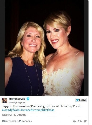 Celebrity Endorses Democrat Wendy Davis for 'Governor of Houston ... | HOUSTON VALET PARKING | Scoop.it