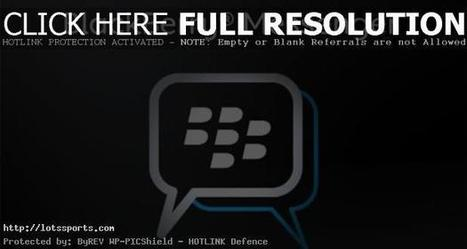 Now also free voice calls with BBM BlackBerry | Sports news | Technology and Gadgets | Scoop.it