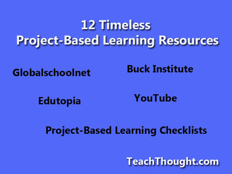 12 Timeless Project-Based Learning Resources | PROJECT BASED LEARNING | Scoop.it