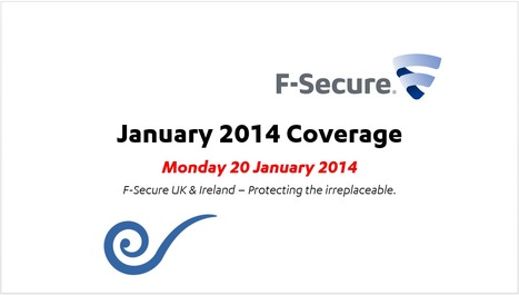 January Coverage (20th) | F-Secure Coverage (UK) | Scoop.it