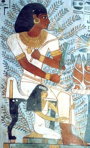 La perspectiva jerárquica | Arte del Antiguo Egipto. | Scoop.it