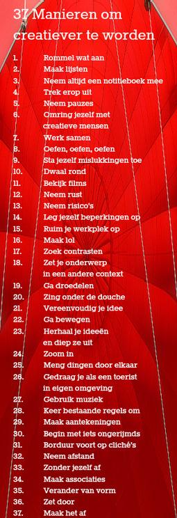 - 37 manieren om creatiever te worden | Edu-Curator | Scoop.it