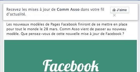 J'ai testé la nouvelle version des pages Facebook : mes observations | Emarketinglicious | Facebook | Scoop.it