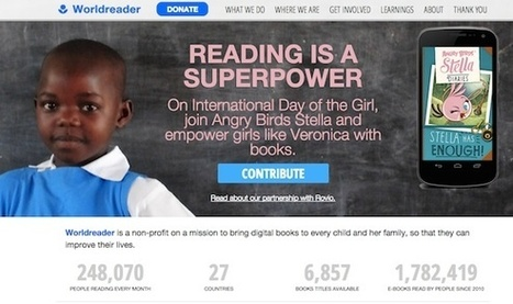 Worldreader: E-books on Cell Phones and Kindles in Schools | ICT for Education and Development | Scoop.it