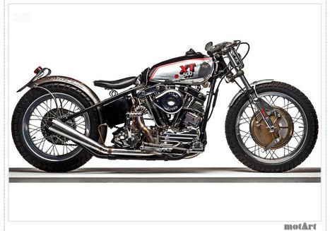 XT Interceptor by Roberto Rossi | Classic and Custom Motorcycles | Scoop.it