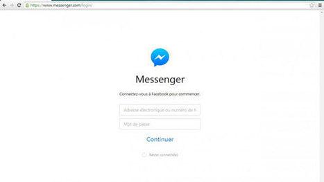 Facebook Messenger est désormais disponible depuis un ordinateur | stratégie marketing des PME | Scoop.it