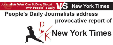 Unnecessary infograph: People's Daily breaks down the time it tried to contact NYT - Shanghaiist | The Daily Infograph by Tomas Jansma | Scoop.it
