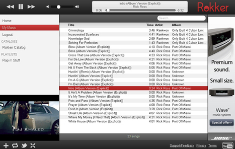 Digital Music News - Rokker.fm: It's Part Spotify, Part Grooveshark, & Totally YouTube...   Music business   Scoop.it