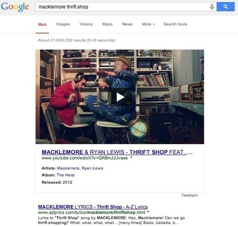 Google is Now Showing Large Embedded Videos in Search Results | MarketingHits | Scoop.it