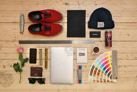 A Showcase of Knolling for Artists & Designers | Identité visuelle | Scoop.it