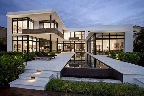 Belle villa contemporaine franco residence par kz for Belles villas modernes