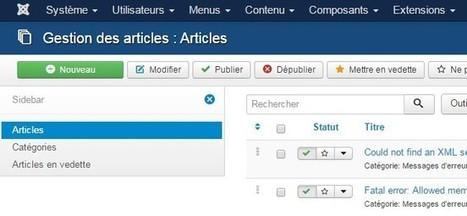 Les nouvelles fonctionnalités apportées par Joomla 3.4 | Tout l'univers Joomla et Wordpress | Scoop.it