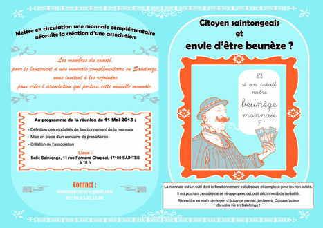 Monnaie locale le beuneze en charente maritime | Monnaies En Débat | Scoop.it