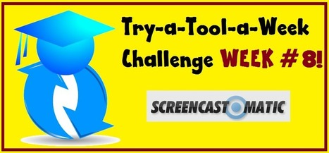 Our Newest 3 Minute Tech Tool Tutorial: Screencast-O-Matic — Emerging Education Technologies | Serious Play | Scoop.it