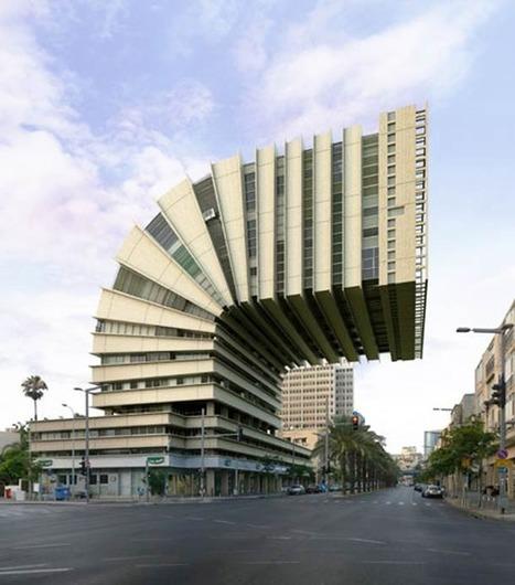 Impossible Architecture – Les Immeubles improbables de Victor Enrich | Rendons visibles l'architecture et les architectes | Scoop.it