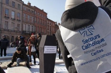Sans-abris : les militants dénoncent une «gestion potagère» de l'hébergement [diapo] | Think outside the Box | Scoop.it