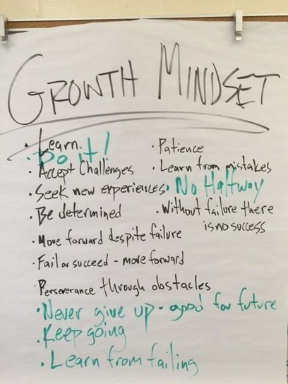 "I Did My Best Job Teaching A ""Growth Mindset"" Today - Here's The Lesson Plan :: Larry Ferlazzo 
