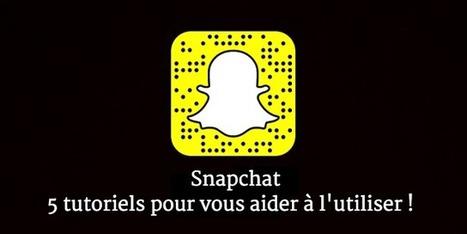 Snapchat : 5 tutoriels pour vous aider à l'utiliser ! | Boite à outils blog | Scoop.it