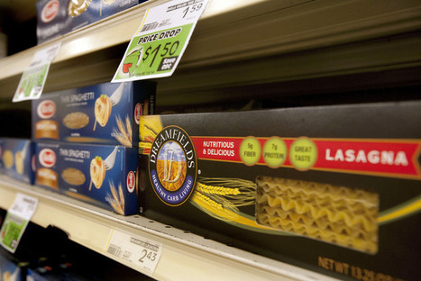 Pasta maker settles false-advertising lawsuit | diabetes and more | Scoop.it