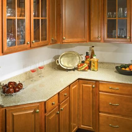 Tiled Kitchen Countertops, Marble Countertops for kitchen at Gharbuilder.com | Modern Kitchen Designs | Scoop.it