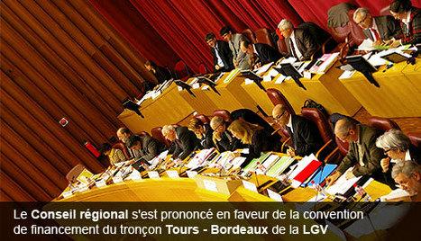 LGV : la Région vote la convention de financement du tronçon Tours - Bordeaux | Actualités entreprise Toulouse et Midi Pyrénées | Toulouse La Ville Rose | Scoop.it