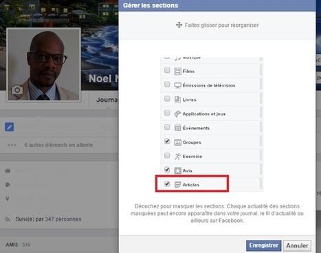 Facebook Articles propose de créer votre blog perso sur le réseau social | Social Media Curation par Mon-Habitat-Web.com | Scoop.it