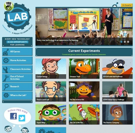 PBS KIDS Lab | Tech in Kindergarten | Scoop.it