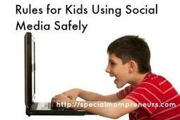 Rules for Kids Using Social Media Safely | Special Needs Parenting | Scoop.it