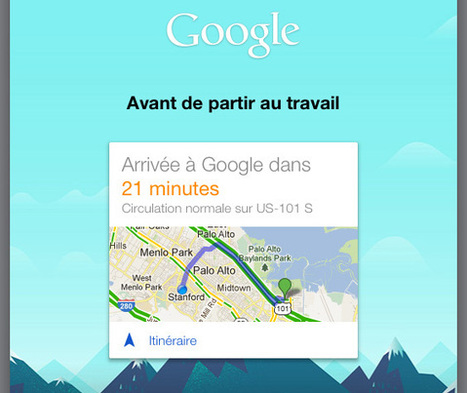 Google Now arrive enfin sur iPhone pour concurrencer Siri | Outils Web | Scoop.it