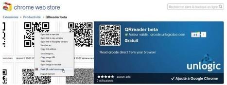 QRreader : Une extension pour lire les codes QR à partir de Chrome | QRdressCode | Scoop.it