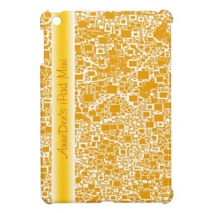 Golden Yellow and White Mini Tile Design | Z Artwork | Scoop.it