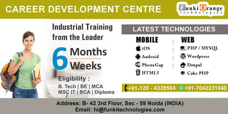 Industrial Training for Engineering Students, BCA, MCA and B.tech in Delhi,Noida and Ghaziabad | Web Designing and Development Services | Scoop.it