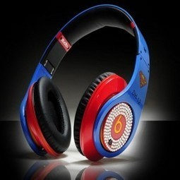 Beats By Dr Dre Studio Superman Diamond Headphones MB268 | beats by dre superman for sale | Scoop.it