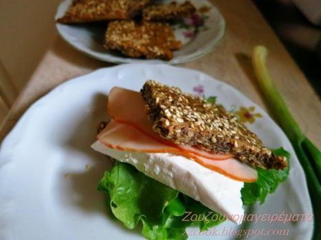 Ζουζουνομαγειρέματα: Τραγανά κράκερς (kneckebrod) διαίτης!!! | Συνταγές | Scoop.it