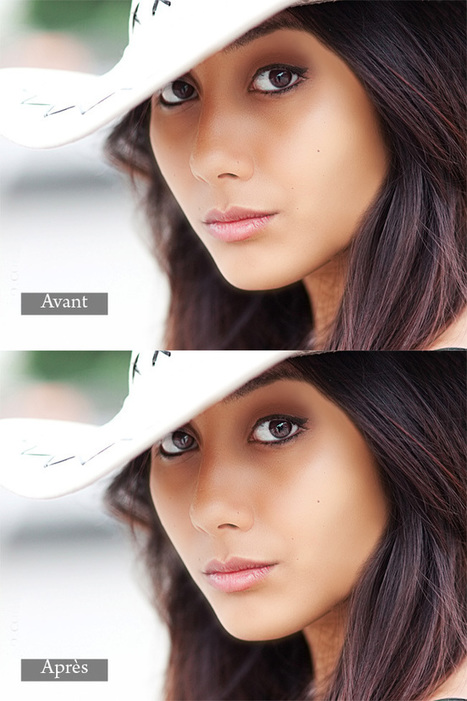 Suplimer les yeux de vos modèles avec Photoshop | Time to Learn | Scoop.it