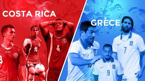 Avant match : Costa-rica - Grèce - Coupe du monde - Brésil 2014 | Coupe du monde - Brésil 2014 | Scoop.it