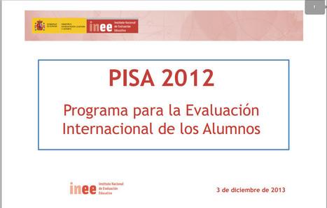 Informe PISA 2012   Orientación Educativa - Enlaces para mi P.L.E.   Scoop.it