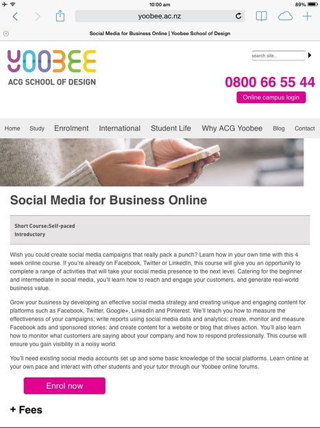 Social Media for Business Course.   English Language Teaching ePortfolio   Scoop.it