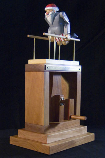 The Automata / Automaton Blog: Flying, exercising, and dancing Santa automata | Heron | Scoop.it