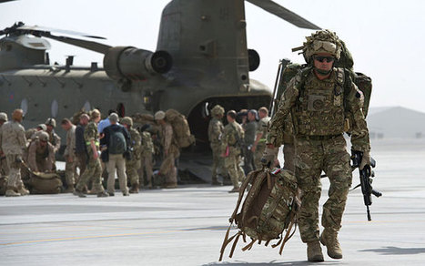 Last British soldiers leave Camp Bastion as war in Afghanistan ends - Telegraph | Team Tommy Support Group | Scoop.it