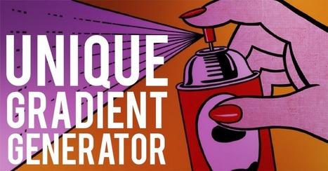 Unique gradient generator - Generador de imágenes de fondo | Educacion, ecologia y TIC | Scoop.it