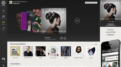 [Exclu] : Spotify lance officiellement sa version web au grand public | Presse Citron | Radio 2.0 (En & Fr) | Scoop.it