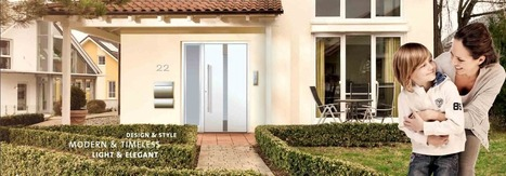 Remodel your house entry doors with the stylish aluminum doors. | Physiotherapy Stockport | Scoop.it